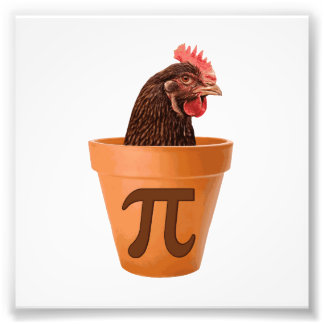 Chicken Pot Pi (and I don't care) Art Photo