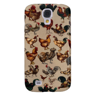 Chicken Poultry Of The World Samsung Galaxy S4 Case