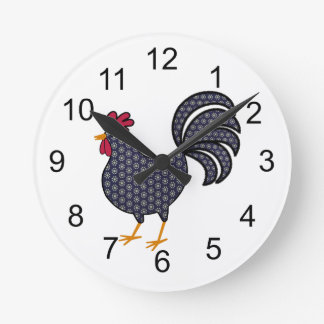 Chicken Ranch Wall Clock