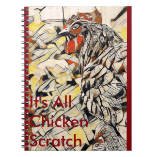 Chicken Scratch (Notebook) Notebooks