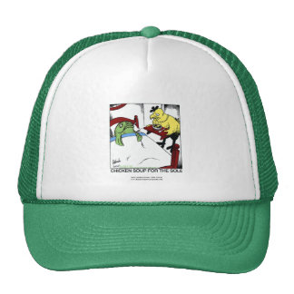 Chicken Soup 4 The Sole Cartoon Cap Trucker Hat