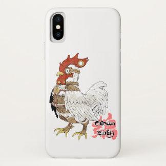 Chicken (steam flat tire) iPhone x case
