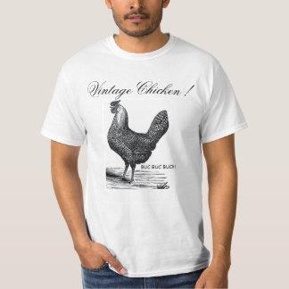 """Chicken T-Shirt """"Vintage Wild Beast"""" Collection"""