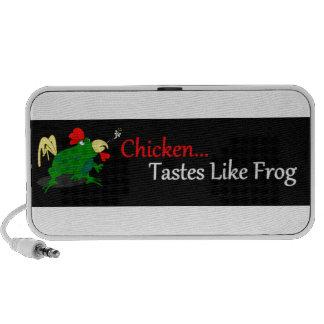 Chicken Tastes Like Frog PC Speakers
