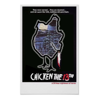 CHICKEN THE 13TH POSTER