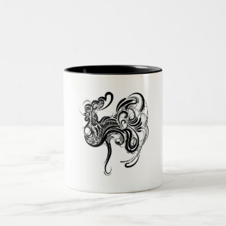 Chicken Two-Tone Coffee Mug