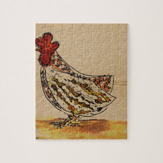 Chicken Vintage Jigsaw Puzzle