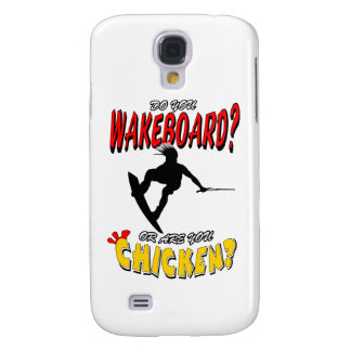 Chicken WAKEBOARD 1 (Black) Samsung Galaxy S4 Cover