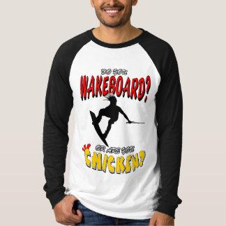 Chicken WAKEBOARD 1 (Black) T-Shirt