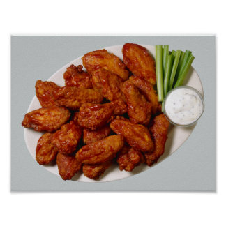Chicken Wings Poster