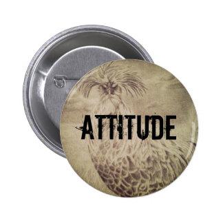 Chicken with attitude button