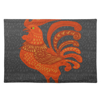 Chicken Year Placemat