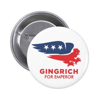 Chickenhawk Gingrich Button