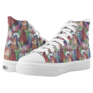 Chickens and Wine High Tops