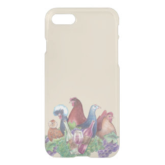 Chickens and Wine iPhone 8/7 Case