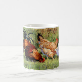 Chickens in a Row Coffee Mug