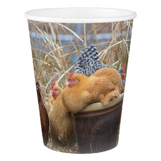 Chickens In The Pot Paper Cup