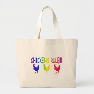 Chickens Rule Canvas Bag