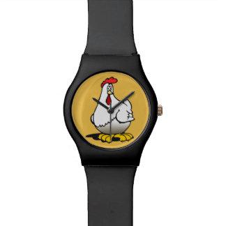 chickens watch
