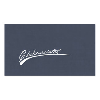 Chickenscratch Business Cards