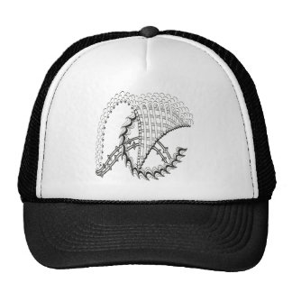 Chickenwheel Abstract Doodle Trucker Hat