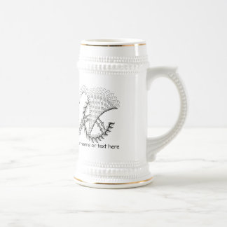 Chickenwheel Abstract Doodle Mug