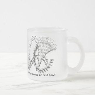 Chickenwheel Abstract Doodle Mugs