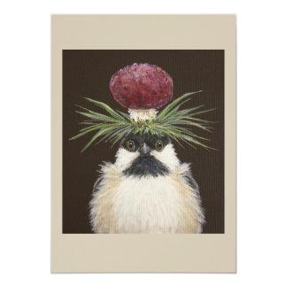 Chickie the chickadee card