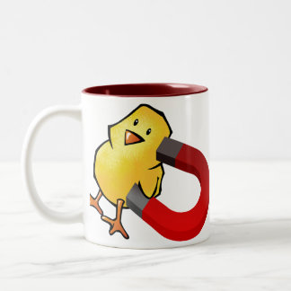 CHICKMAGNET Two-Tone COFFEE MUG