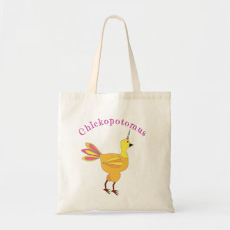 Chickopotomus - The Unicorn Chicken Tote Bag