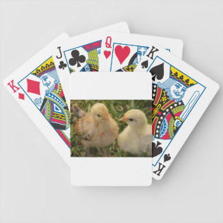 Chicks Bicycle Playing Cards