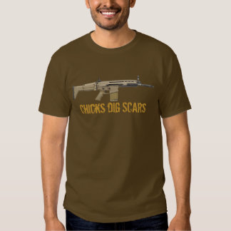 Chicks Dig (FN) Scars T Shirt