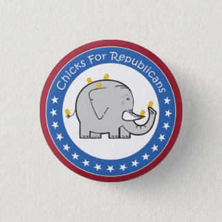 chicks for republicans button