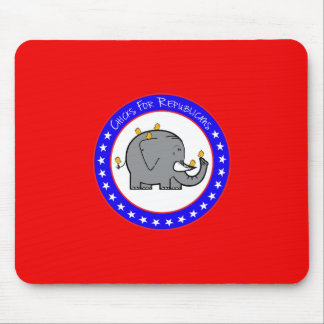 chicks for republicans mousepad