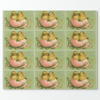 Chicks In Eggshell Wrapping Paper