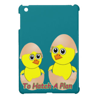 Chicks In Love To Hatch A Plan iPad Mini Case