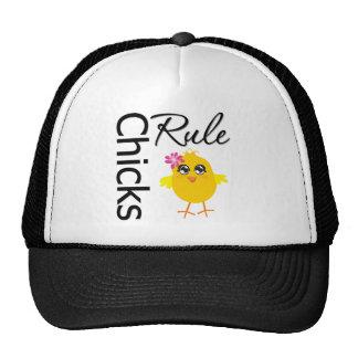 Chicks Rule 1 Hats