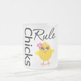 Chicks Rule 1 Coffee Mug