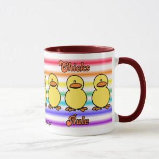 Chicks Rule 2 Mug