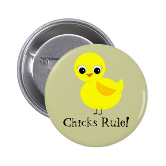 Chicks Rule! Buttons