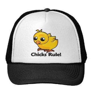Chicks Rule! Mesh Hat