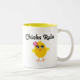 Chicks Rule Mug