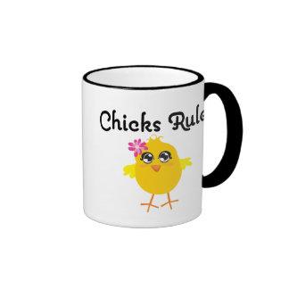 Chicks Rule Coffee Mug