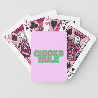 Chicks Rule Poker Cards