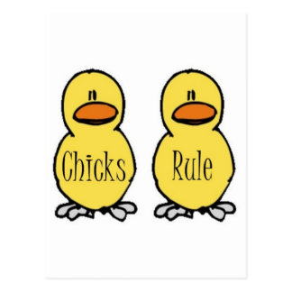 Chicks Rule Post Cards