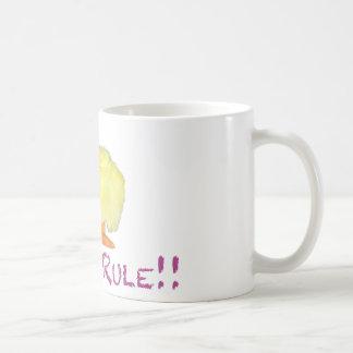 Chicks Rule Side Transparent Mug