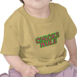 Chicks Rule T Shirt