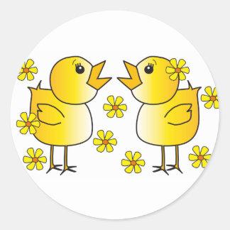 Chicks Sticker