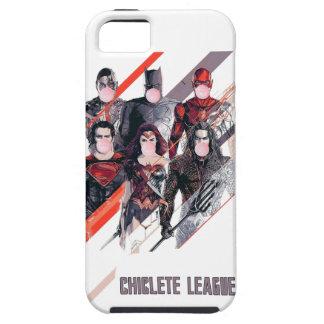 Chiclete League Tough iPhone 5 Case