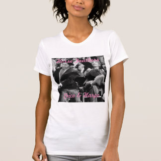 Chico & Harpo Marx Ladies T-Shirt